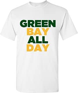 Green Bay All Day Basic Cotton T-Shirt