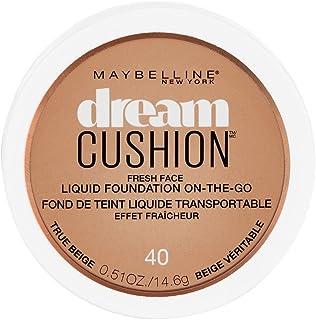 Maybelline New York Dream Cushion Fresh Face Liquid Foundation, True Beige, 0.51 Ounce