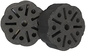 Lokkii, Ready to Lite-Premium Barbeque Briquettes, Contains 2 Individually Wrapped Briquettes