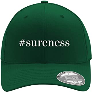 #sureness - Adult Men's Hashtag Flexfit Baseball Hat Cap