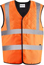 Inuteq H2O - Bodycool 2Bsafe Evaporative Cooling Safety Vest, Hi Vis Yellow & Orange