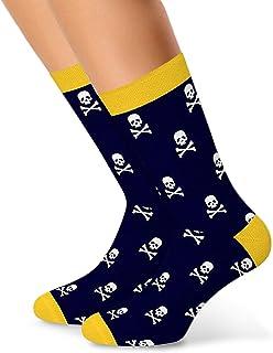 DOTS, Calcetines divertidos, coloridos, estampados divertidos, de algodón, para mujer, hombre y niños, unisex, divertidos calcetines como regalo