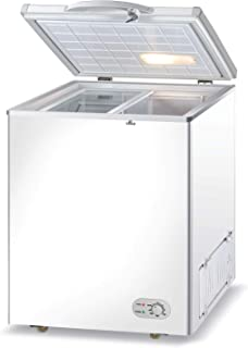 Wolf Power 210 Liters Chest Freezer, White - WCF210SD