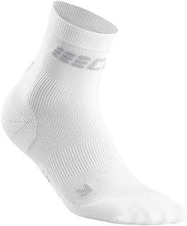 Men's Compression Crew Cut Socks - CEP Ultralight Short Socks for Performance