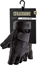 Blackhawk Men's Black S.O.L.A.G. Special Ops 1/2 Finger Light Assault Glove