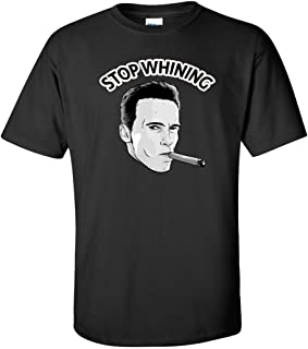 Stop Whining Arnold Schwarzenegger T-Shirt Crossfit Men Women Bodybuilding Gym Workout Funny Witty Sarcastic Cigar