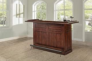Hillsdale Furniture Classic Bar, Large, Cherry finish
