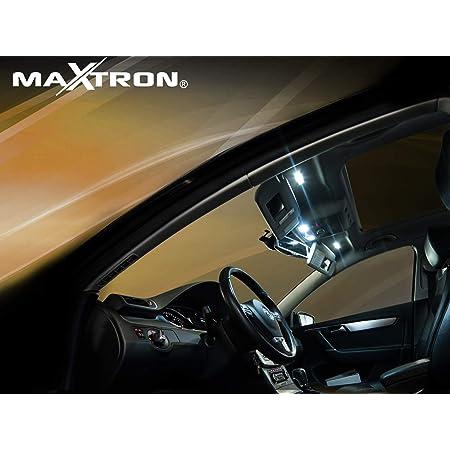 Maxtron Innenraumbeleuchtung Set Für Auto Astra K 6000k Kalt Weiß Beleuchtung Innenlicht Komplettset Auto