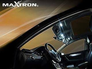 MaXtron Innenraumbeleuchtung Set für Auto Astra G 6000K Kalt Weiß Beleuchtung Innenlicht Komplettset