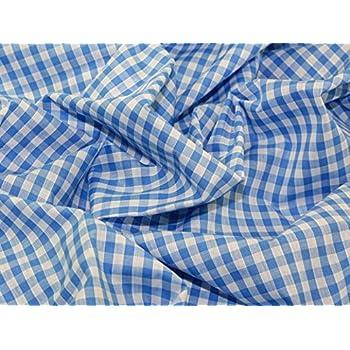 Tela Polycotton Camisa Azul Claro-Vendido por metros