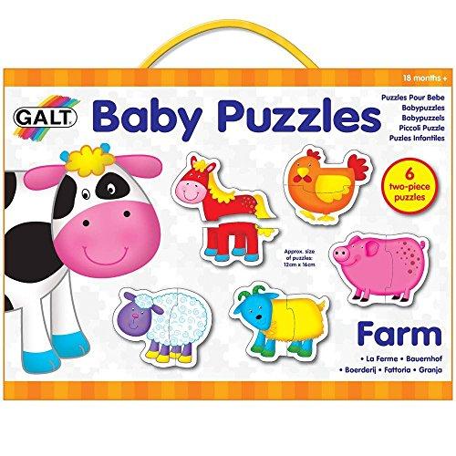 Galt baby puzzel - Boerderij