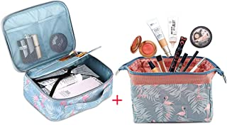 Salandens 2 pack Organizador de bolsas de cosméticos de