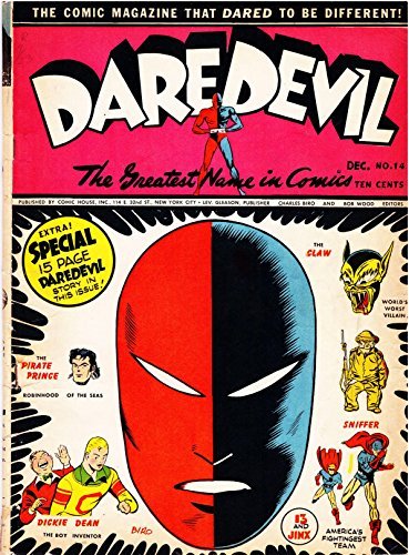 Daredevil Comics - Issue 014 (Golden Age Rare Vintage Comics Collection (With Zooming Panels) Book 12) (English Edition)
