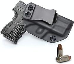 "IWB KYDEX Holster Custom Fit: Sig Sauer P365 | XD-S 3.3"" 9mm/.40S&W/.45ACP |.."