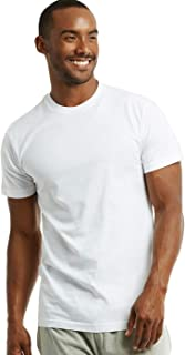 Men's Premium Crew Neck Cotton Undershirt T-Shirt - 2 in a Pack