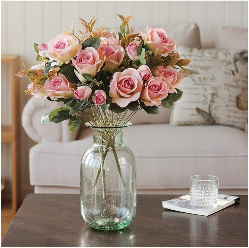 Agal Artificial Flowers Genuine Free Shipping Silk with Financial sales sale Transp Rose