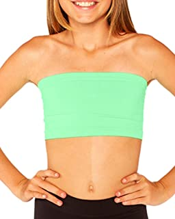 Girls Solid Bandeau Top