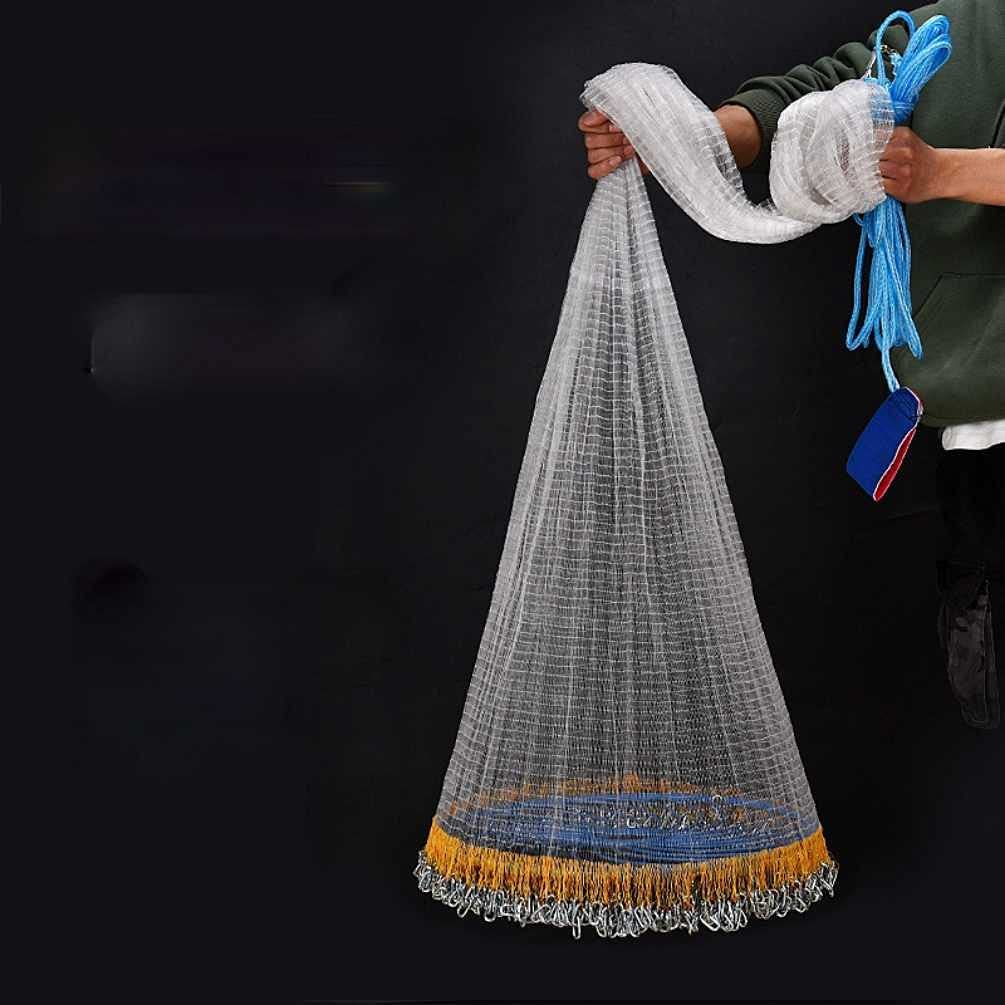 RQ Casting Net Ranking TOP14 Large Frisbee Type Disc Polished Fishing Hand Mail order cheap