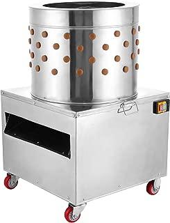 VEVOR Stainless Steel Chicken Plucker Turkey Poultry Defeather Plucking Machine 20Inch