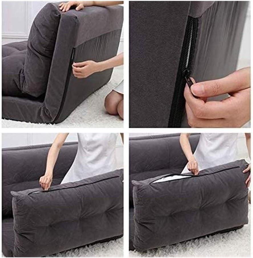 HLR Chaise de méditation Chaise pour Yoga Lazy Lit Pliant Petit Appartement Chambre Canapé Chaise Lit siège for Beanbag Chaise Chaise de Plancher (Color : C) B
