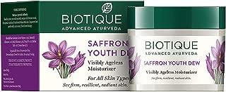 Biotique Bio Saffron Dew Youthful Nourishing Day Cream 50g X 2