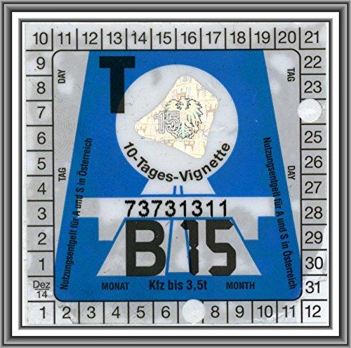 Clear-Screen Trägerfolie Haftfolie 10 x 15 cm für 2 x Vignette Maut oder 1 x Feinstaub Umwelt-Plakette