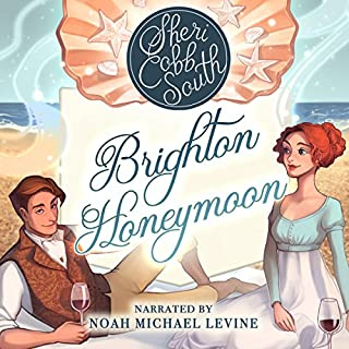 Brighton Honeymoon                   By:                                                                                                                                 Sheri Cobb South                               Narrated by:                                                                                                                                 Noah Michael Levine                      Length: 5 hrs and 9 mins     169 ratings     Overall 4.5
