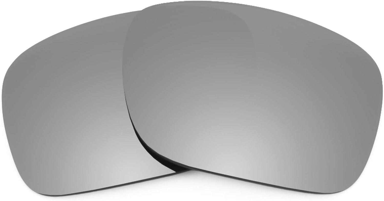Revant Verres de Rechange pour Oakley Split Shot - Compatibles avec les Lunettes de Soleil Oakley Split Shot Titane Mirrorshield - Polarisés Elite