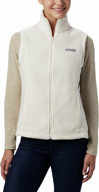 Columbia Women's Benton 日本 値引き Springs Soft Vest Fleece