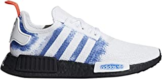 adidas Originals NMD_R1 Shoe - Men's Casual 9.5 White/Bold Blue/Core Black