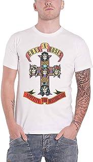 Guns N Roses T Shirt Appetite For Destruction Band Logo 新しい 公式 メンズ