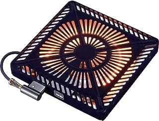 メトロ こたつ用取替えヒーター U字型ハロゲンヒーター 手元温度コントロール式 MHU-601E(DK) ブラック