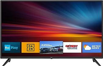 """Trevi LTV 4008 SMART Televisore Smart TV 40"""" con Decoder Digitale DVBT-T2 e Satellitare DVBS-S2, Sistema Operativo Android, Risoluzione 1920 x 1080 dpi Full HD"""