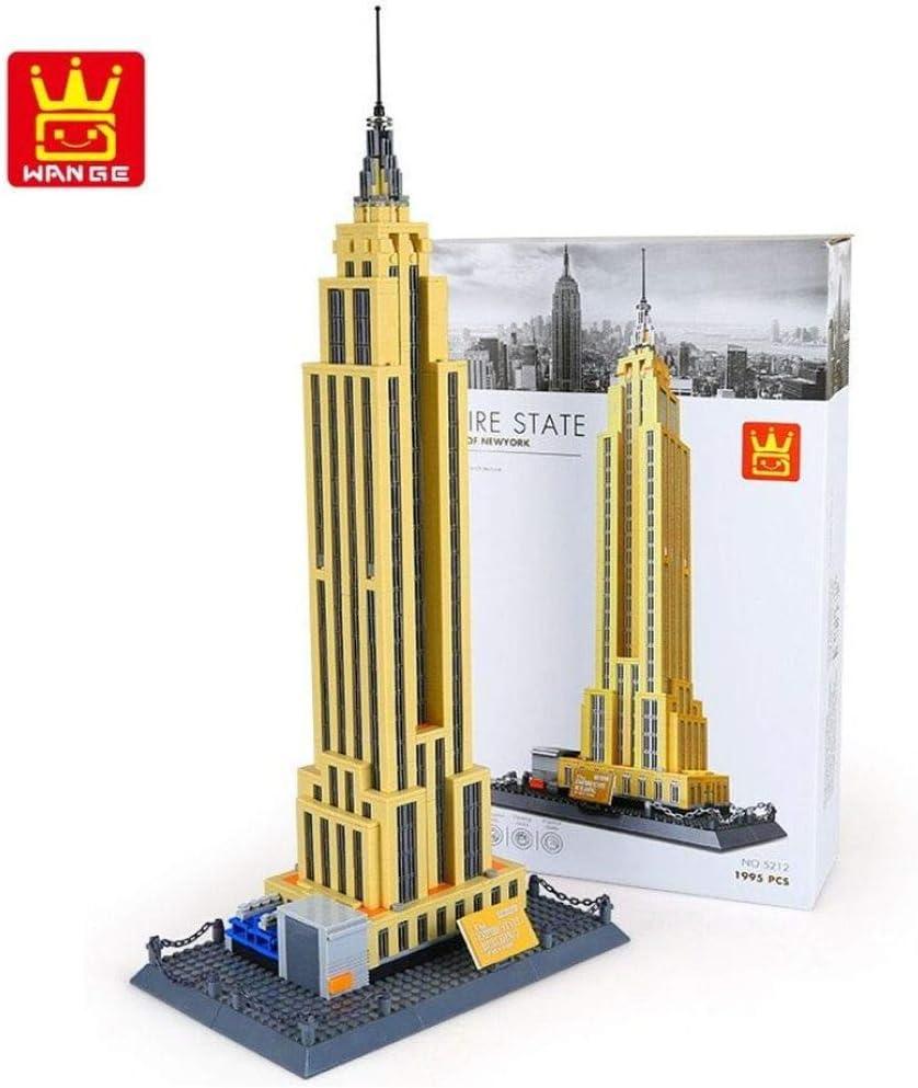 Kathedrale Notre Dame. Architektur Modell zum Bauen mit Bausteinen. Empire State