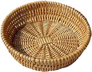 Best round wicker basket small Reviews