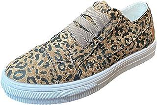 2020-2021 Planner Women Canvas Slip On Sneakers Classic Leopard Print Sport Casual Shoe 2020 Graduation Gifts Sneakers