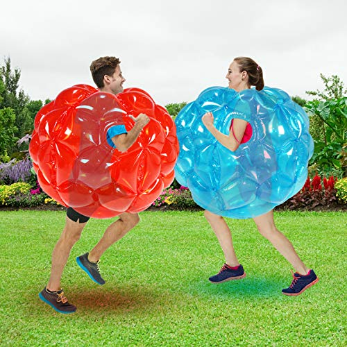 SUNSHINE-MALL 2 PC-Stoßfängerkugeln,Aufblasbare Body Bubble Ball Sumo Stoßstange Bopper Spielzeug