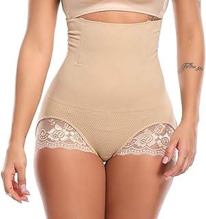 fadf82c3b219 Vaslanda Womens High Waist Butt Lifter Panty Thin Waist Control Control  Belly Weight Loss Shaper