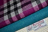 Harris Tweed Stoff 100% reine Schurwolle gemischt Bundle