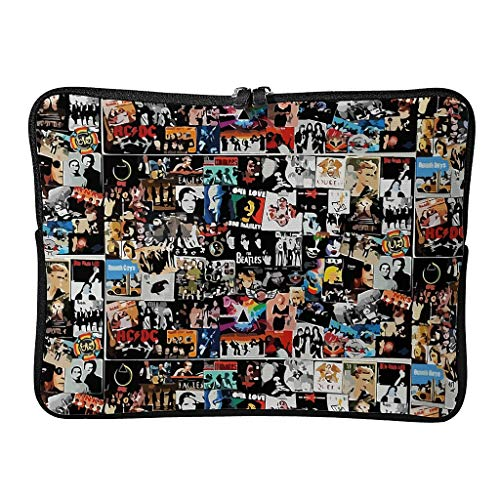 Laptop Bags Vintage Movies Background Upgraded Regular Expandable - Tablet Case Suitable for Professional Travel White 12 Zoll