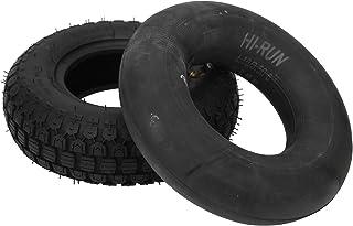 Äldre elektrisk skoter däck, gummi starkt grepp 4.10/3.50-6 däck för skottkärror för gräsklippare för vagnar