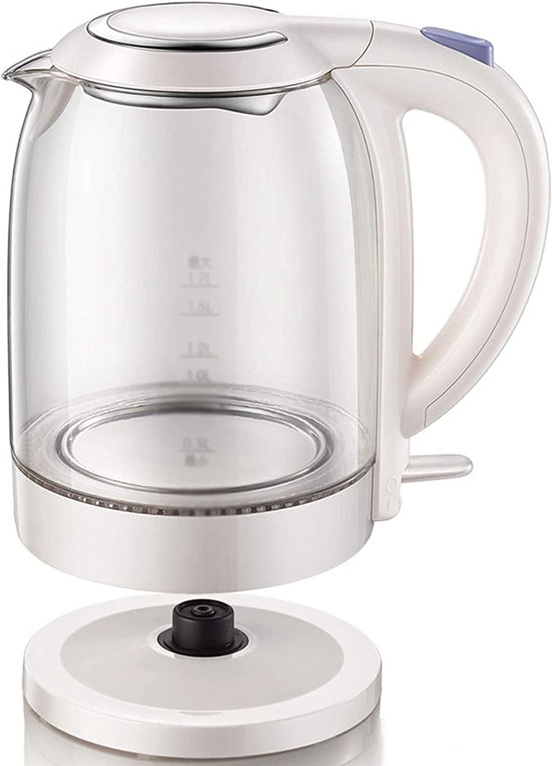 ZHZHUANG Portable Electric Super beauty product restock quality top Kettle Lowest price challenge Fa 1.7L Glass