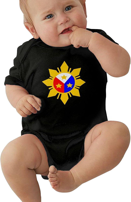 Filipino Sun Trust Max 69% OFF And Stars Flag Girls Bodysuits Unisex Short- Cotton