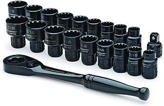Crescent Brand CX6PT20 20 Pc. X6 Pass-Thru Ratchet & Socket Set