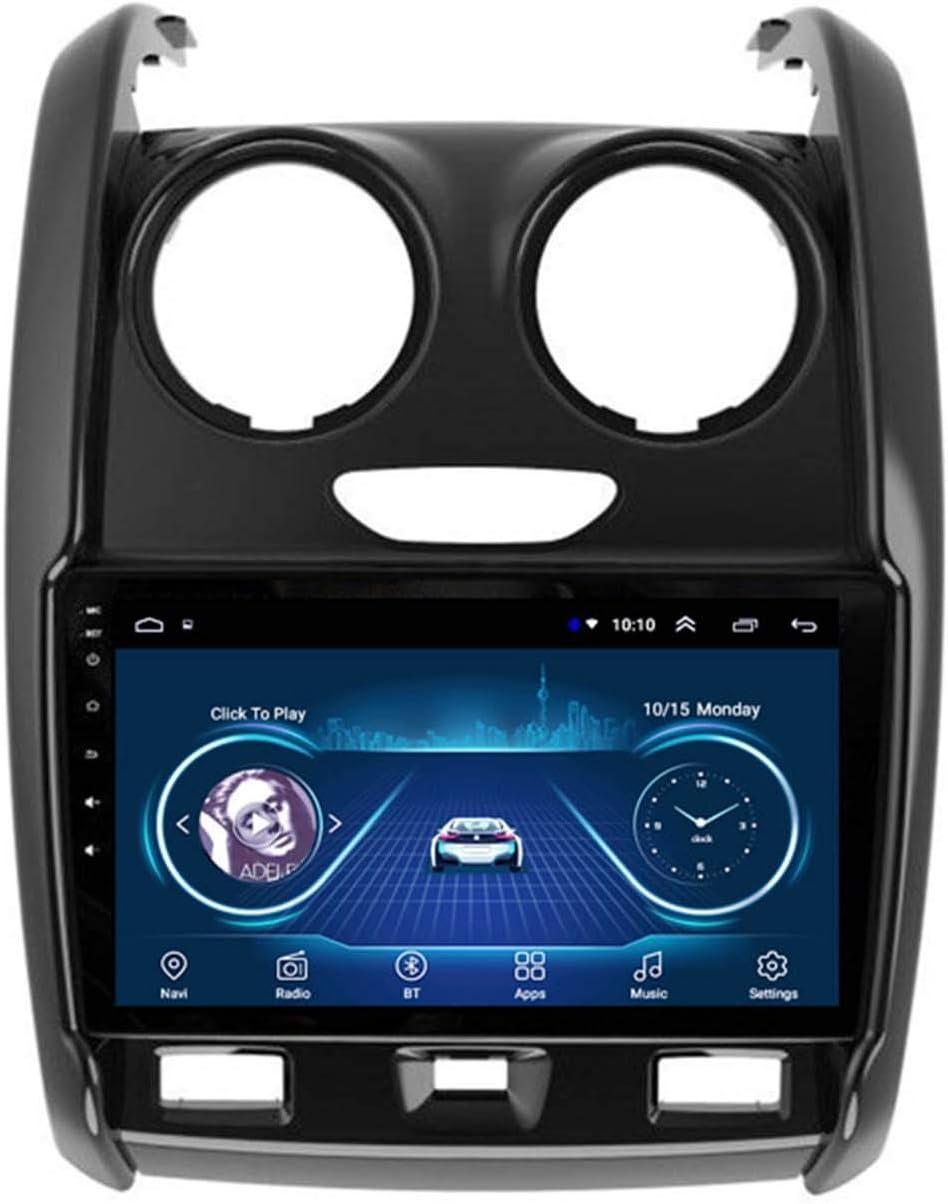 BBGG GPS 1G + 16GB Android Pantalla Grande GPS Navegator para Renault Dacia 15-20 Navegación GPS, Notificación De Voz De Varias Condiciones De Tráfico, Actualización De Mapas Gratuita