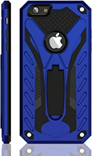 iPhone 6 Plus Case/iPhone 6S Plus Case, Military Grade 12ft. Drop Tested Protective Case with Kickstand, Compatible with Apple iPhone 6 Plus/iPhone 6S Plus - Blue