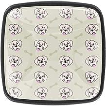 Puppy hebzuchtige botten dressoir lades trekt kabinet knop decoratieve meubels knoppen kasten vierkante knoppen (4 stuks)
