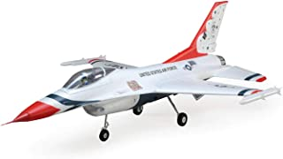 E-flite F-16 Thunderbirds 70mm EDF BNF Basic with AS3X and Safe Select, EFL7850