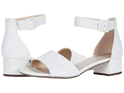 Clarks Elisa Dedra (White Leather) Women