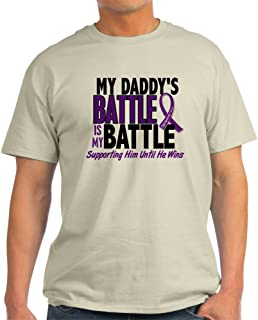 My Battle Too Pancreatic Cancer Cotton T-Shirt